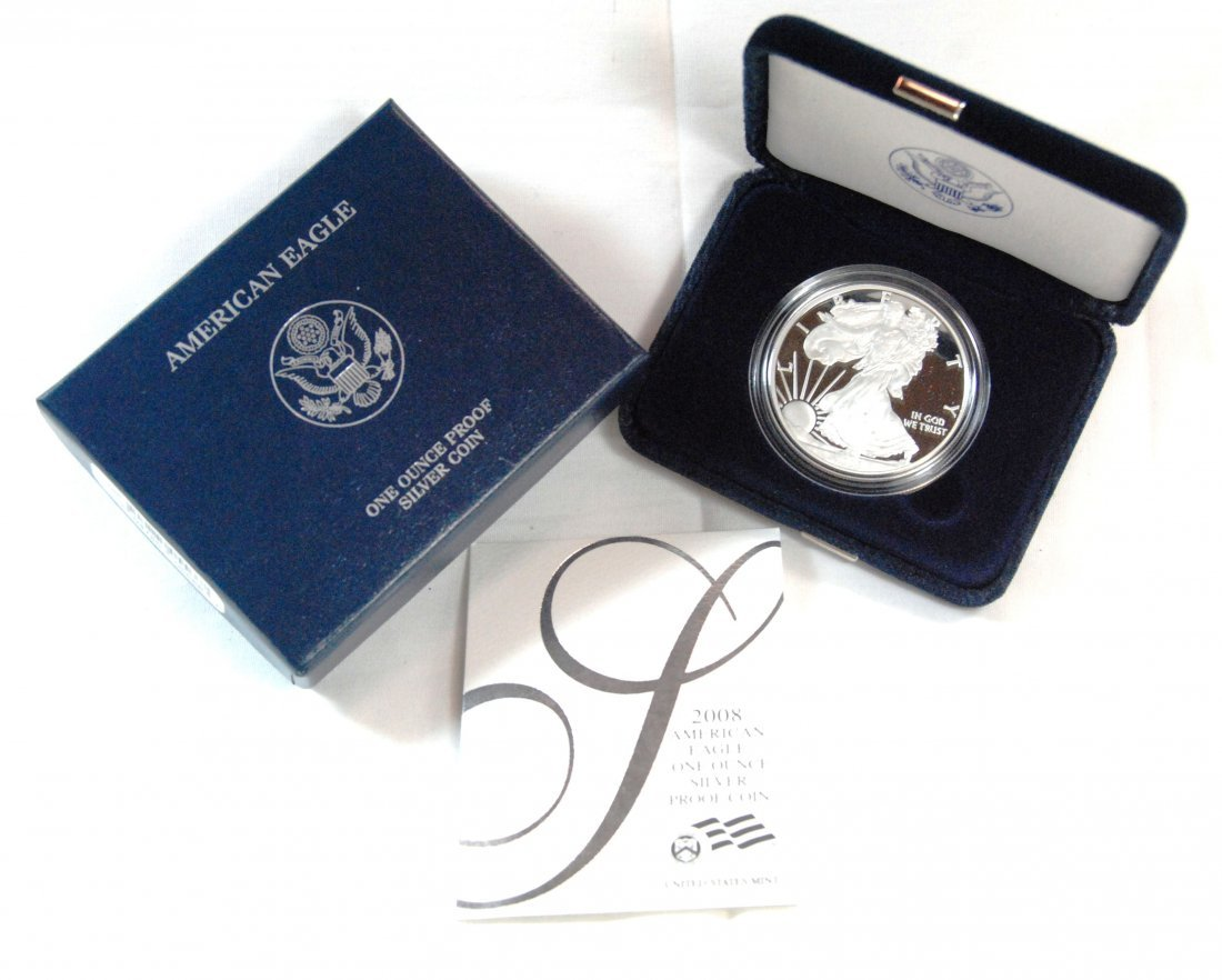 18: 2008 US West Point Mint American Eagle One Ounce Fi