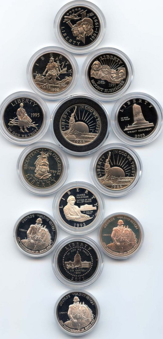 20: This is a Great Selection of 13 United States Silve