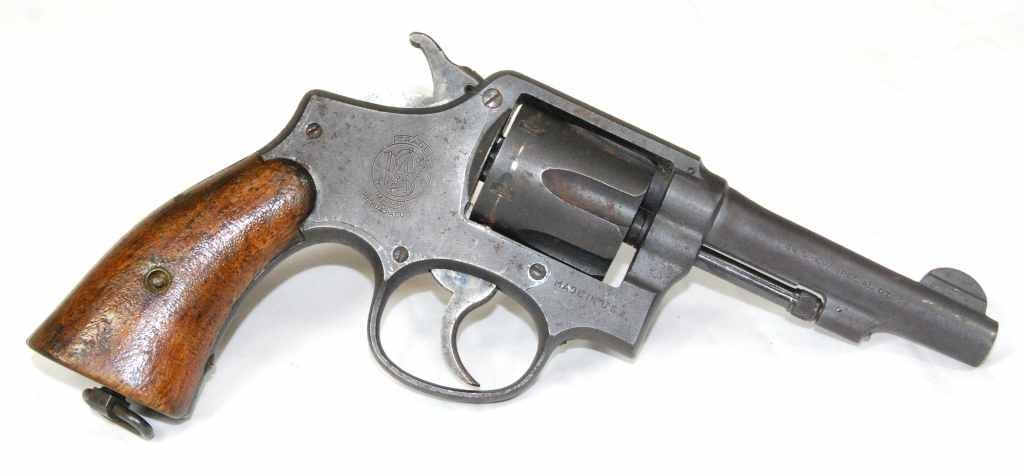 74: Vintage Smith & Wesson 38 Special CTG Double Action - 5