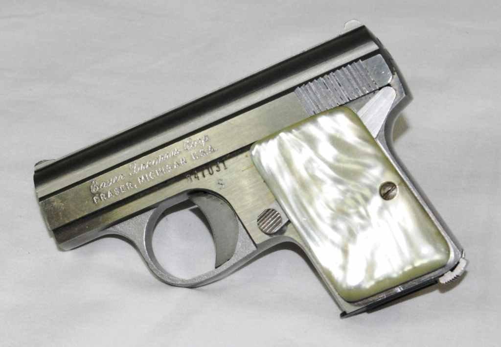 "77: Bauer Firearms ""Baby Bauer"" 25 Caliber Semi Automat"