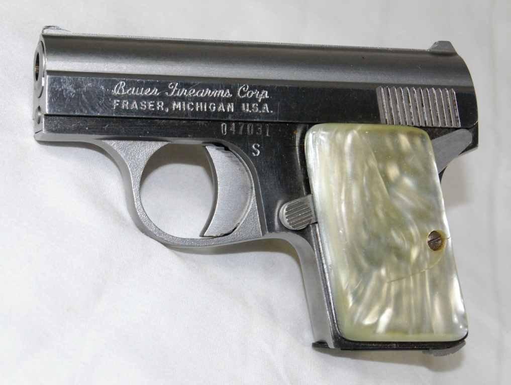 "77: Bauer Firearms ""Baby Bauer"" 25 Caliber Semi Automat - 2"