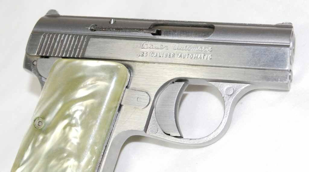 "77: Bauer Firearms ""Baby Bauer"" 25 Caliber Semi Automat - 4"