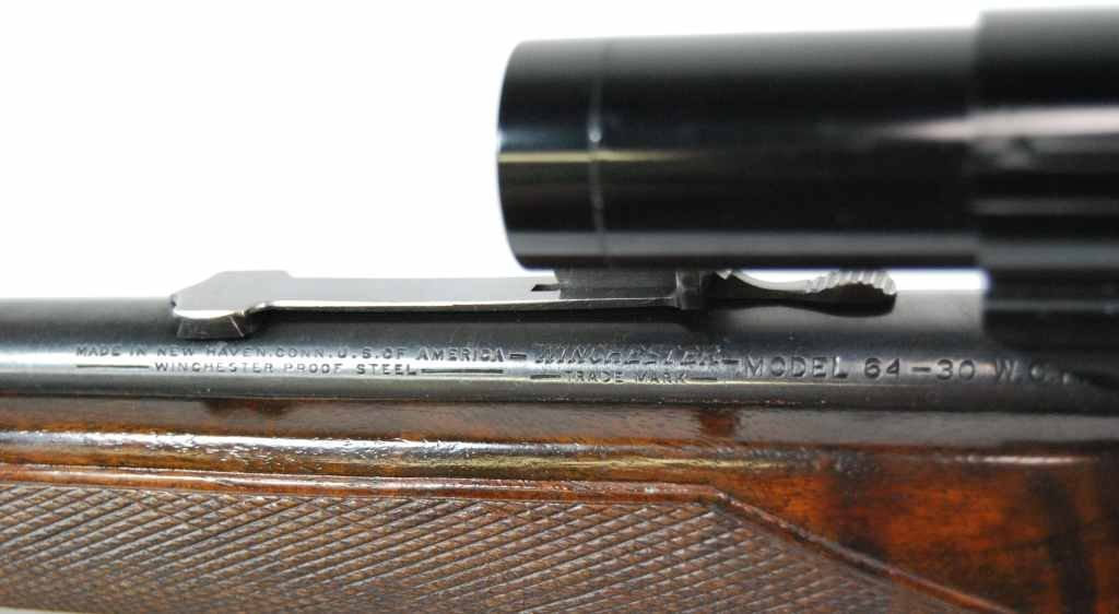 175: Winchester Model 64 Rifle in 30-30 Cal with Scope - 10