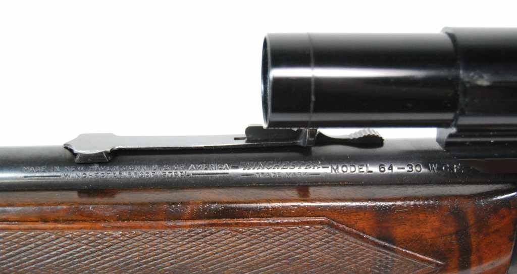 175: Winchester Model 64 Rifle in 30-30 Cal with Scope - 9