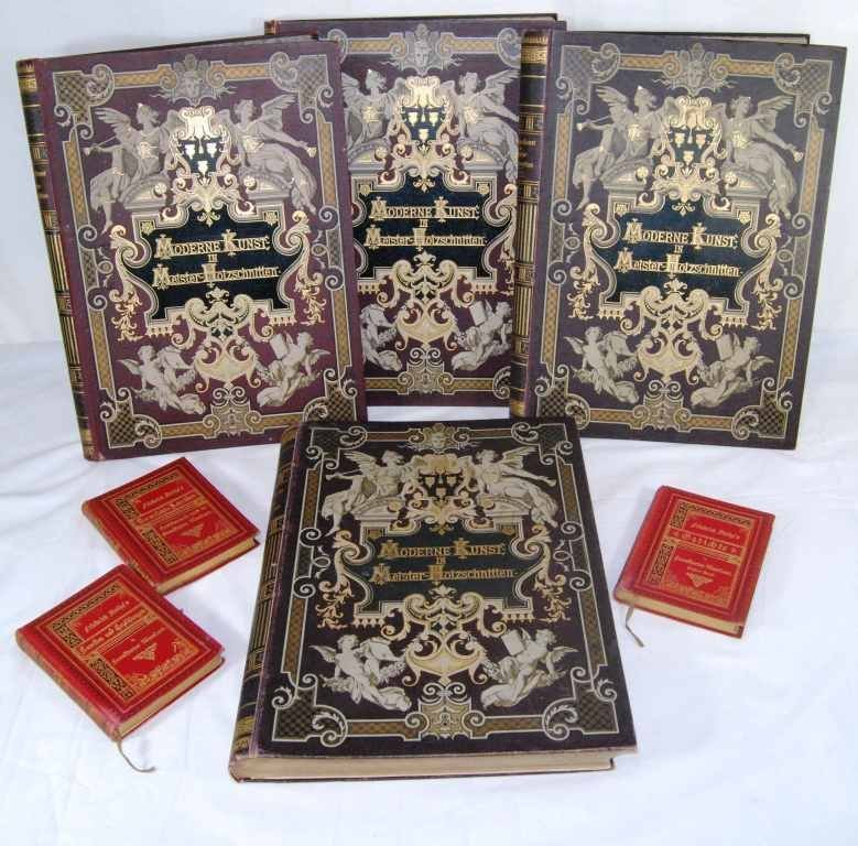 7: Collection of Antique German Books