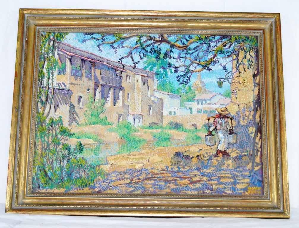 14: Mahlon Blaine, Listed Artist, Gouache/Watercolor on