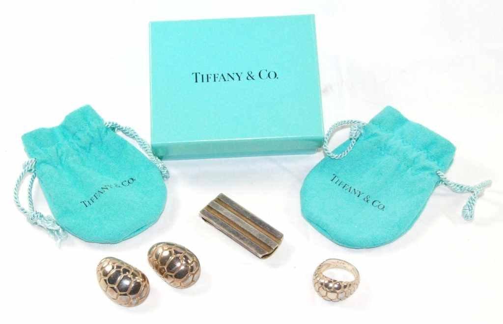 12: Tiffany & Co. Sterling Silver 3 Pc. Set - Money Cli