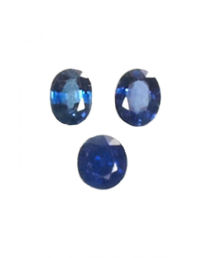 Lot of 3 Sapphires