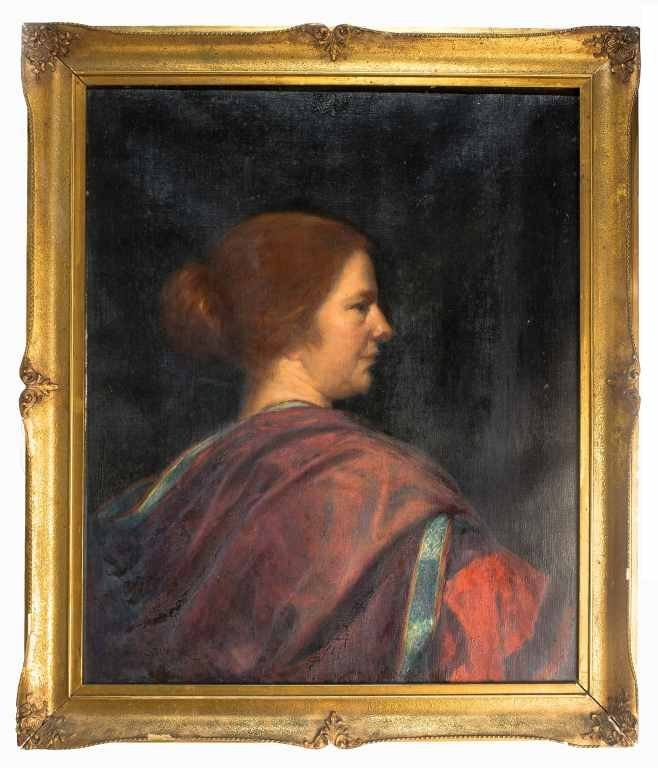 Cecil Leonard Burns, Listed Artist, Oil on Canvas,
