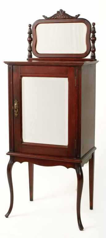 - Antique Victorian Record / Sheet Music Cabinet