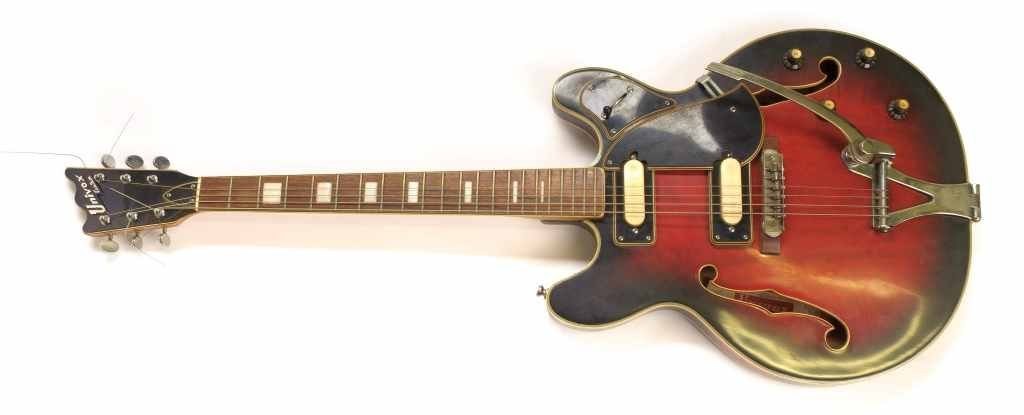 Rare Vintage Univox Custom Japan Electric Guitar