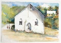 Listed Artist, Stephen Scott Young, Original Watercolor