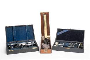 Vintage Collection of Doctor's Medical Equipment /