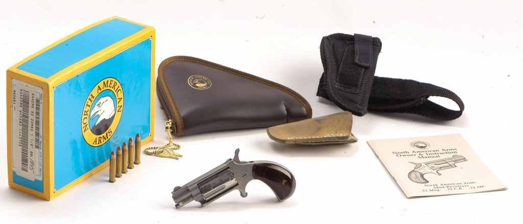 North American Arms .22 Magnum, 5 Shot Pocket Pistol