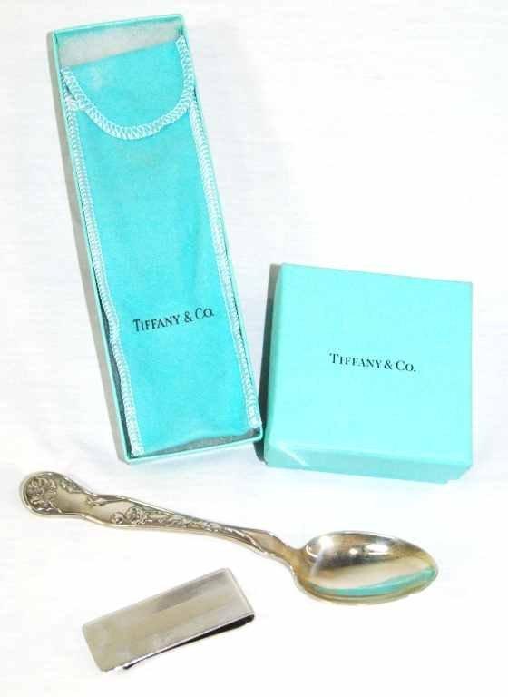 Tiffany & Co. Sterling Silver Spoon & Money Clip