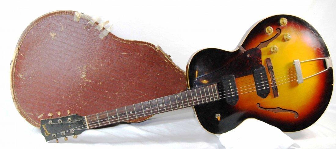 Vintage Gibson Electric Guitar Sunburst ES 125 TD – 195