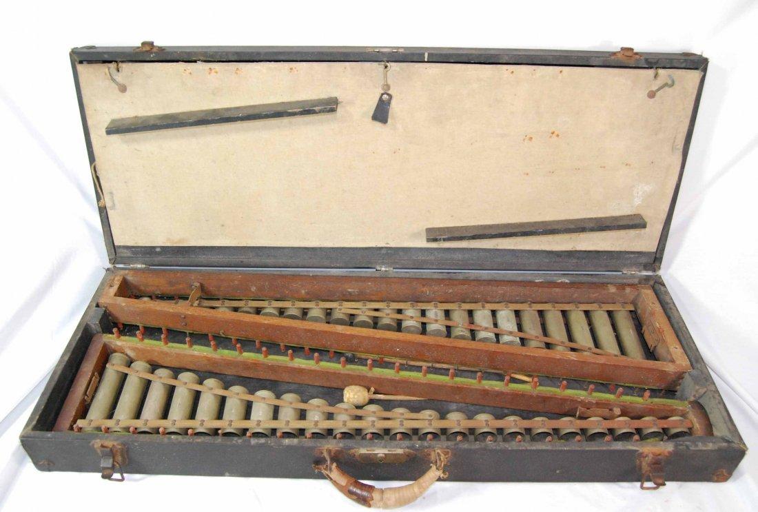 Vintage Leedy Mfg. Co. Original Cased Xylophone Musical