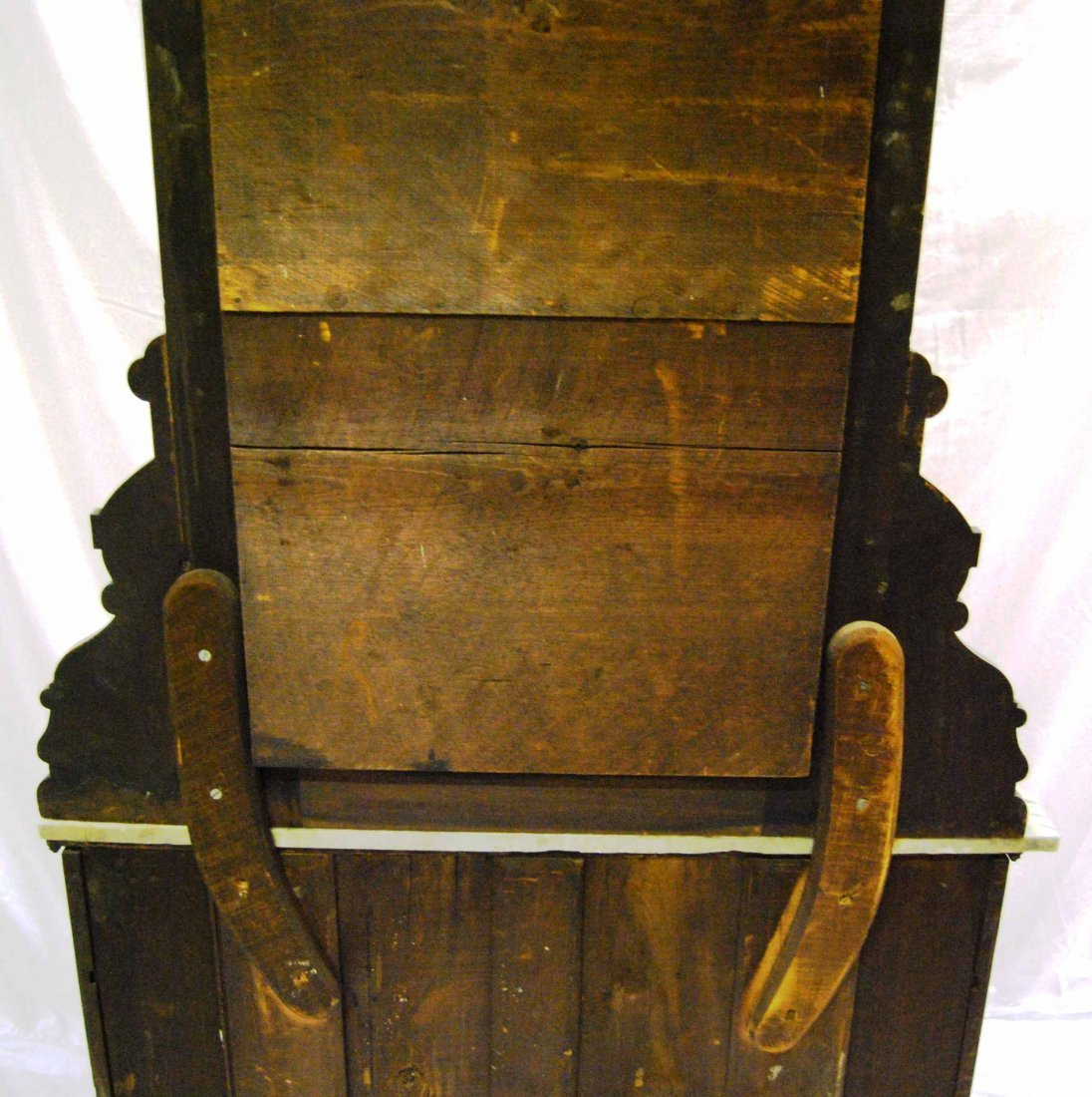 Antique Walnut Eastlake Marble-top Dresser w/ Mirror - 3