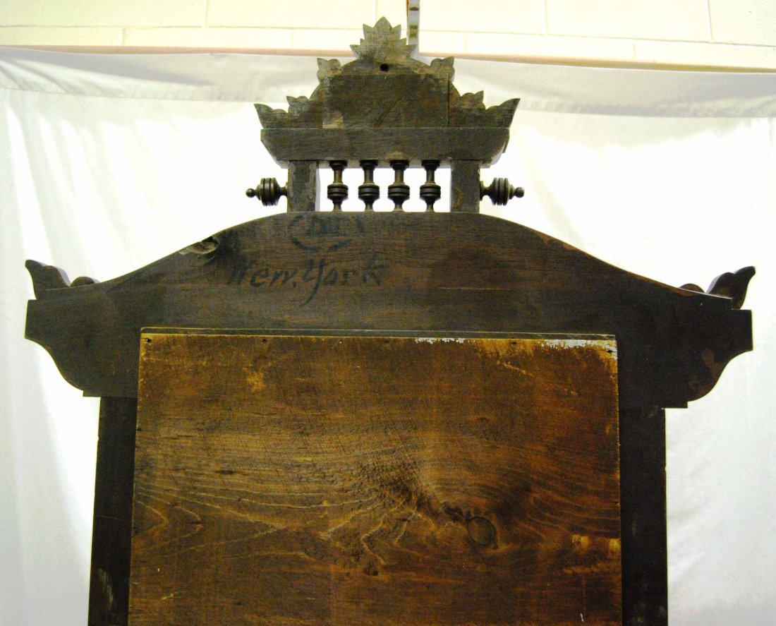 Antique Walnut Eastlake Marble-top Dresser w/ Mirror - 5