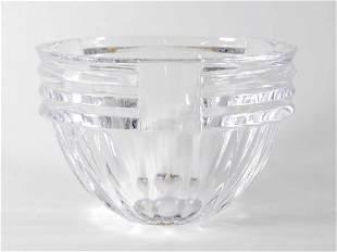 Vintage Signed & Numbered Orrefors Crystal Bowl