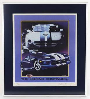 Dodge Viper Signed & Numbered Print by Chris Kaminski