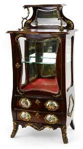 Salesman Sample / Child's Etagere w/ Beveled Glass