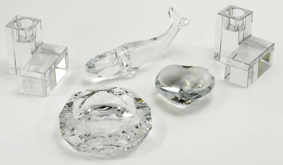 5 Piece Collection of Baccarat Crystal