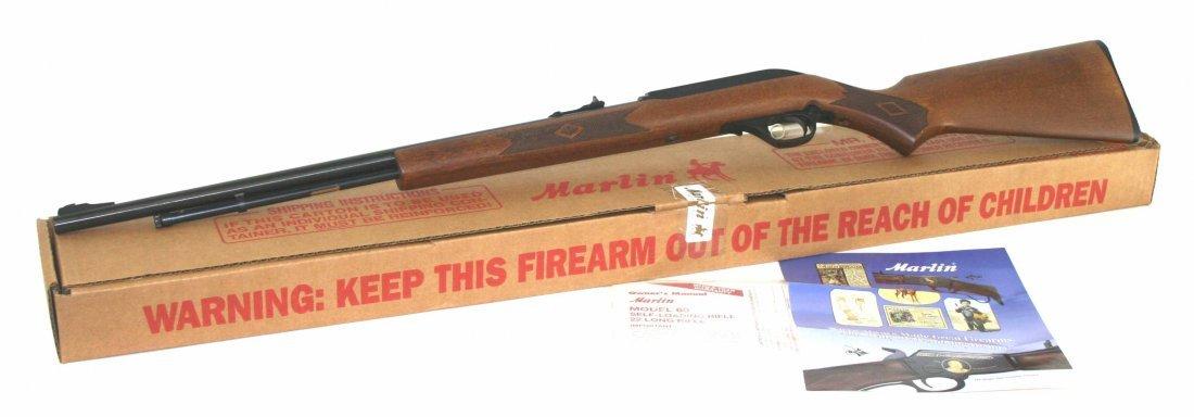 Marlin Model 60, Micro-Groove Barrel in .22LR Rifle NIB