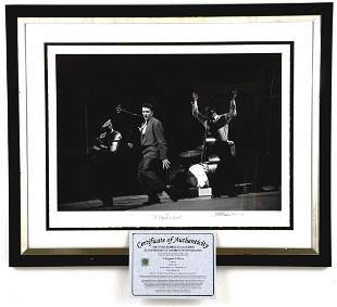 "Elvis Presley, ""A Legend is Born"", Framed Giclee Print"