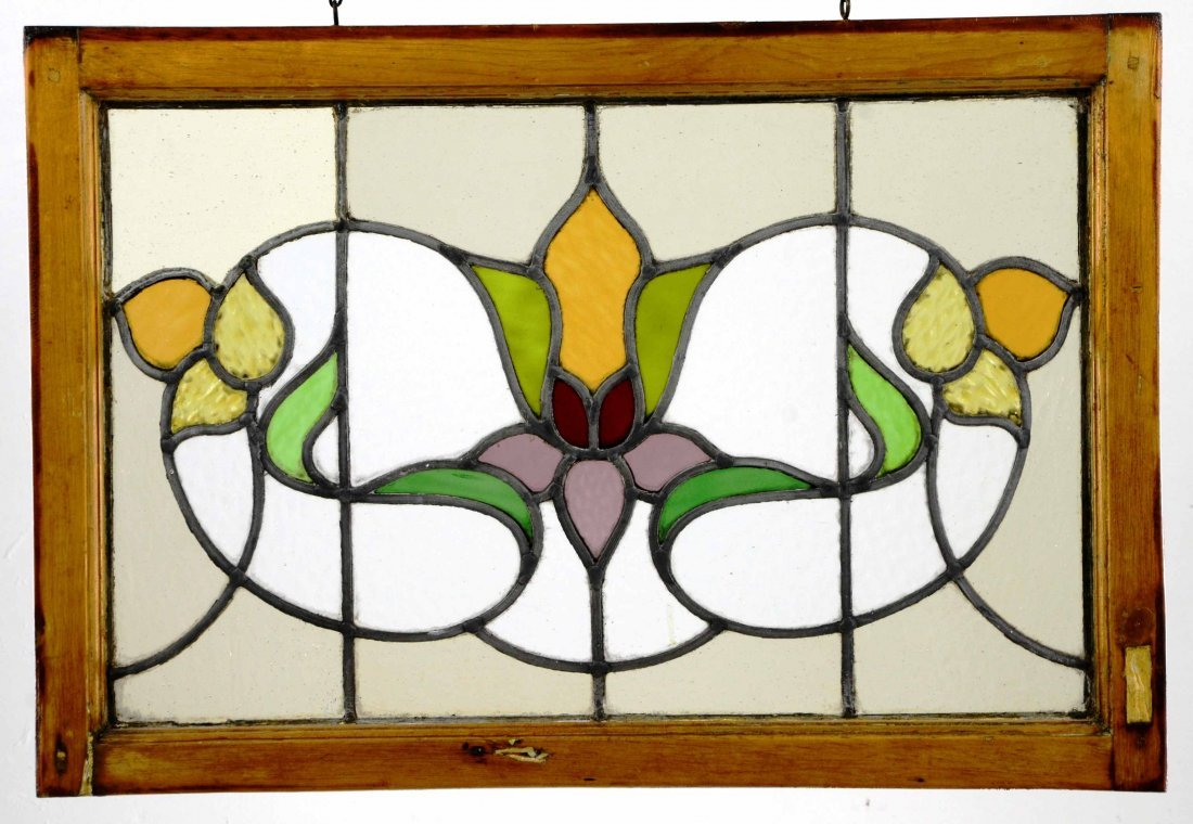 Beautiful Antique Stained Glass Window