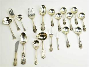 Collection of Reed & Barton Sterling Silver Flatware