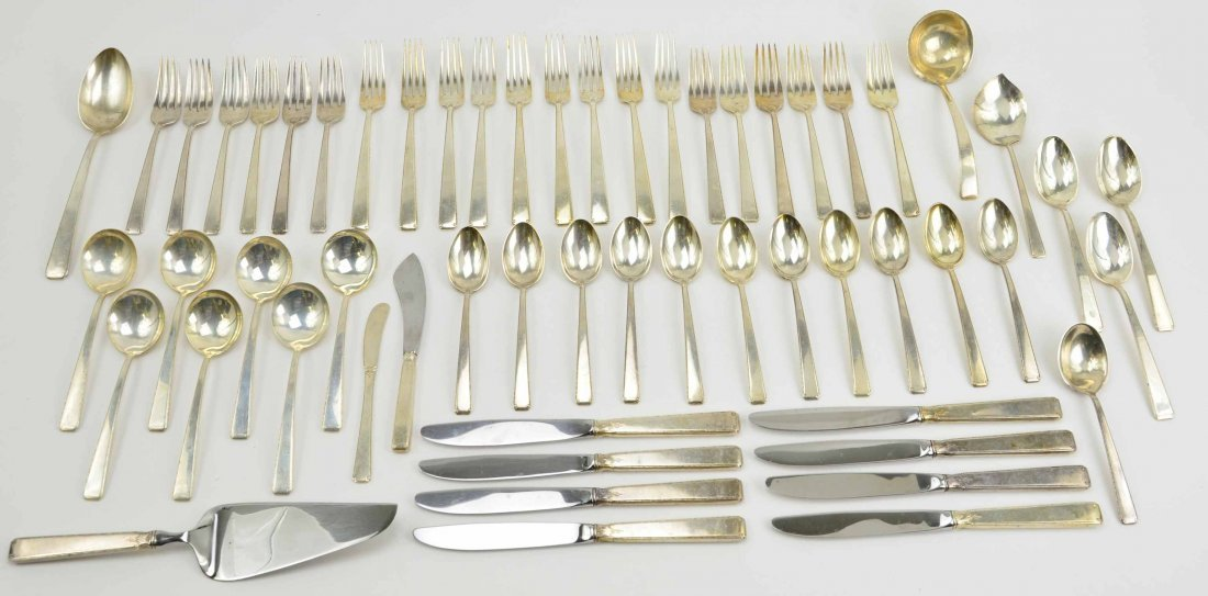 Vintage 59 Pc Sterling Silver Flatware Set by Towle