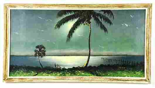Oil on Board, by Listed Artist, Sam Newton, Highwaymen