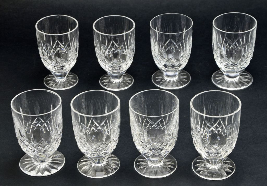 Set of 11 Waterford Cocktail & Double Lismore Glasses - 2