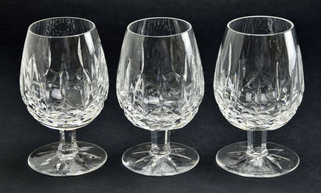 Set of 11 Waterford Cocktail & Double Lismore Glasses - 7