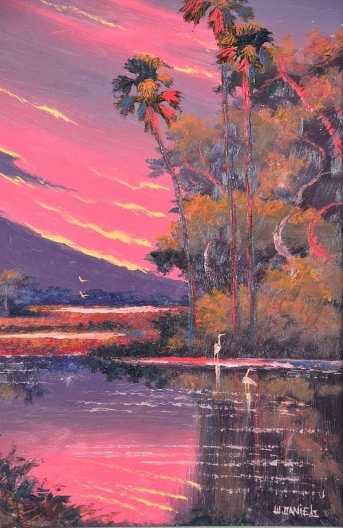 Oil on Board, Willie Daniels, Highwaymen - 3