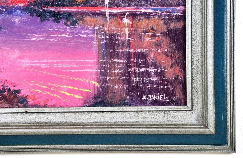 Oil on Board, Willie Daniels, Highwaymen - 4