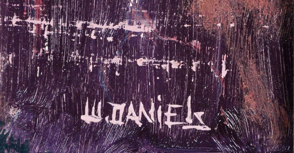 Oil on Board, Willie Daniels, Highwaymen - 5