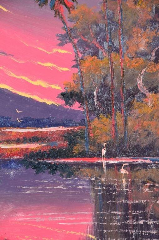 Oil on Board, Willie Daniels, Highwaymen - 6