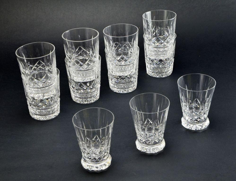 Set of 11 Waterford Crystal Lismore Juice Glasses - 2