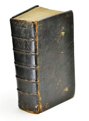 1780 Pennsylvania German Leather Bound Bible