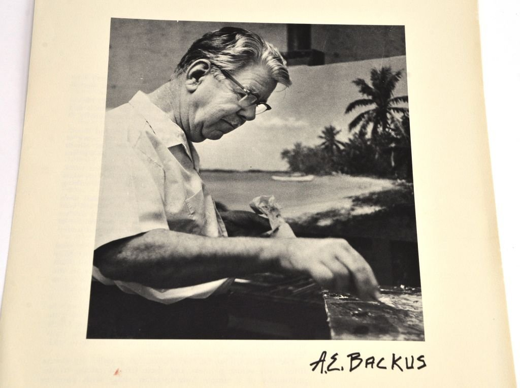 """""""Florida & the West Indies Sketches"""" A.E. Backus - 8"""