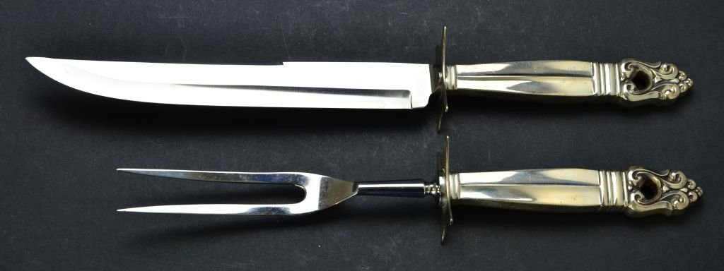 Set of 8 Sterling Utensils, Tiffany & Co., Cartier, Etc - 10