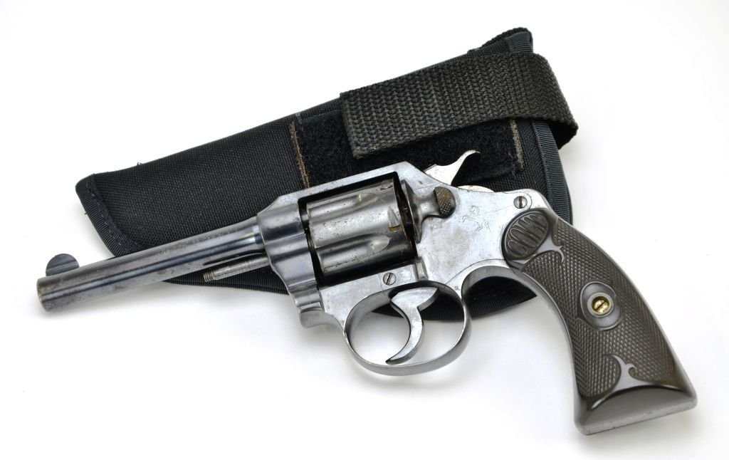 Early Colt .32 Police CTG 6 Shot Revolver