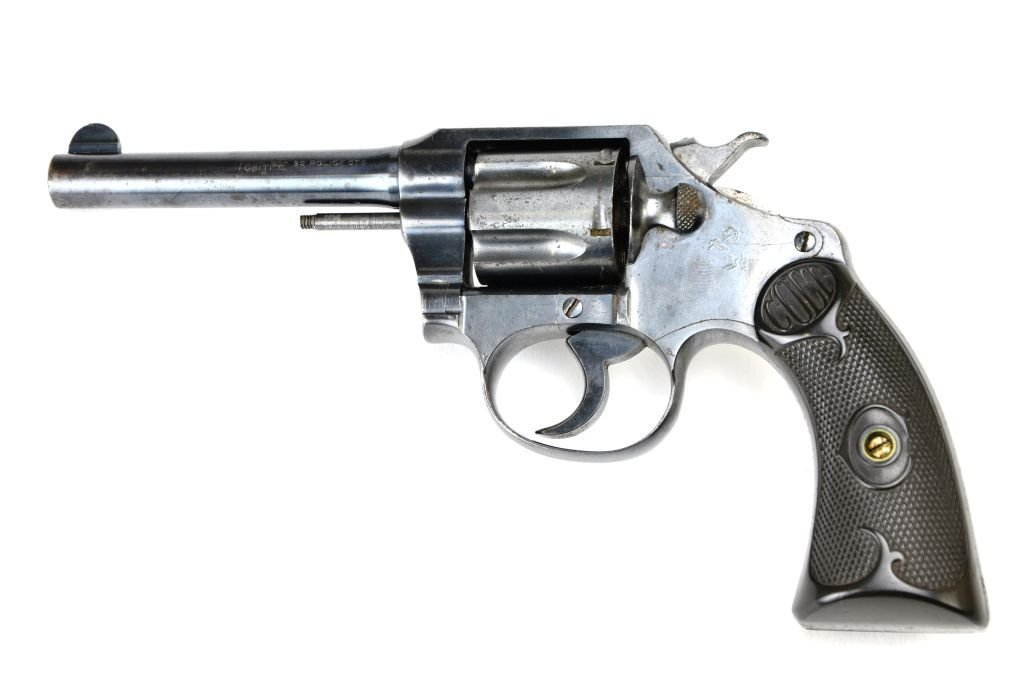 Early Colt .32 Police CTG 6 Shot Revolver - 4