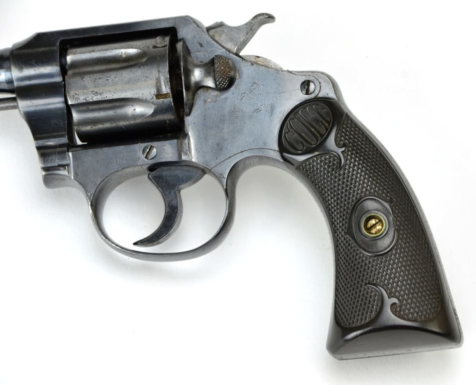 Early Colt .32 Police CTG 6 Shot Revolver - 5