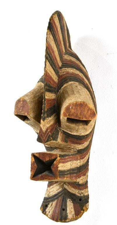 African Songe Kifebwe Carved Wood Mask, Sotheby's 2000 - 6