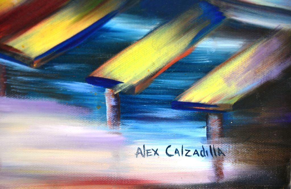"Abstract ""The Lover's Nightmare"" by Alex Calzadilla - 5"