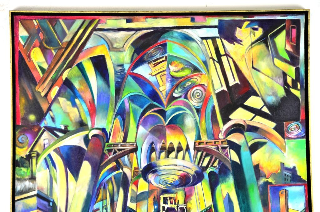 Acrylic & Oil Canvas by Marco Riccioppo - 4