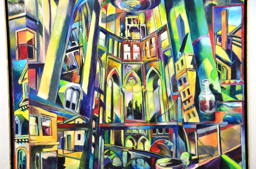 Acrylic & Oil Canvas by Marco Riccioppo - 5